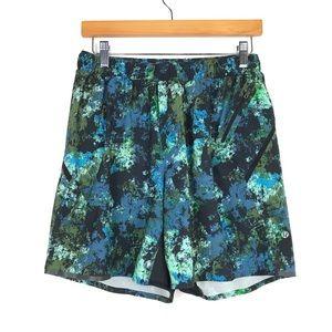 "Lululemon Mens Surge 7"" Shorts Sz M Multicolored"
